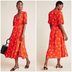 Anthropologie Faithfull Rivera Midi Dress